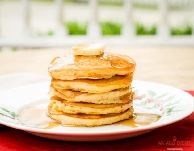 Stack of Sweet Potato Pancakes
