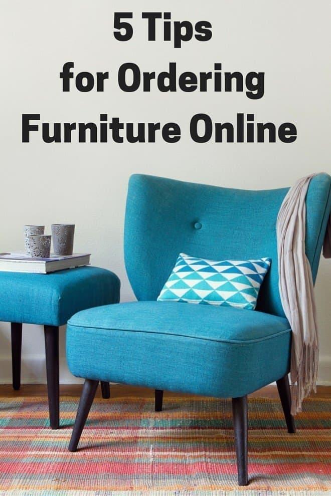 5 Tips for Ordering Furniture Online