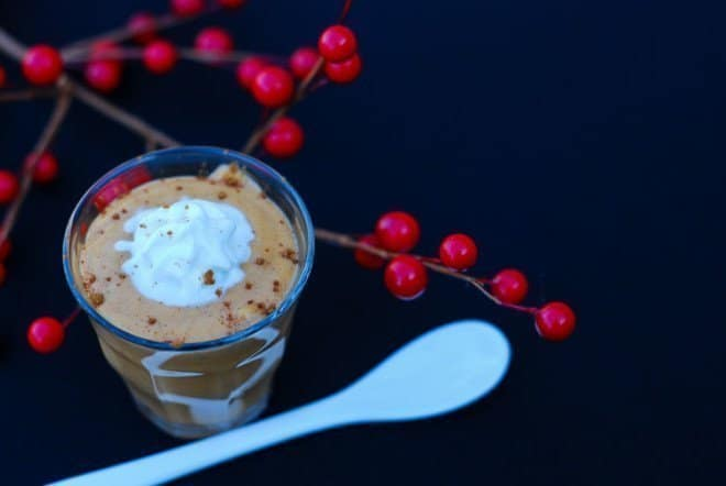Light Butterscotch Pumpkin Mousse