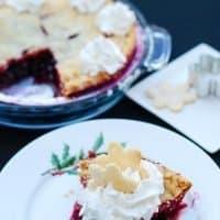 Festive RazzleBerry Pie