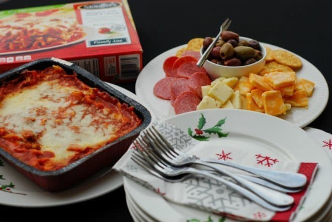 Stouffer's Lasagna - Easy Dinner Ideas for the Holidays