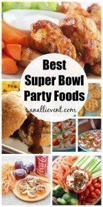 Best Super Bowl Party Foods