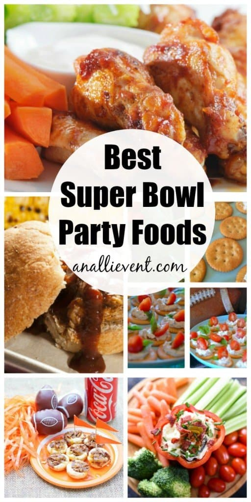 Best Super Bowl Party Foods