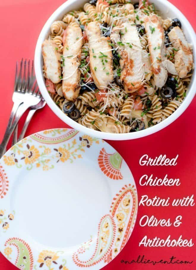 Grilled-Chicken-Rotini-Pasta