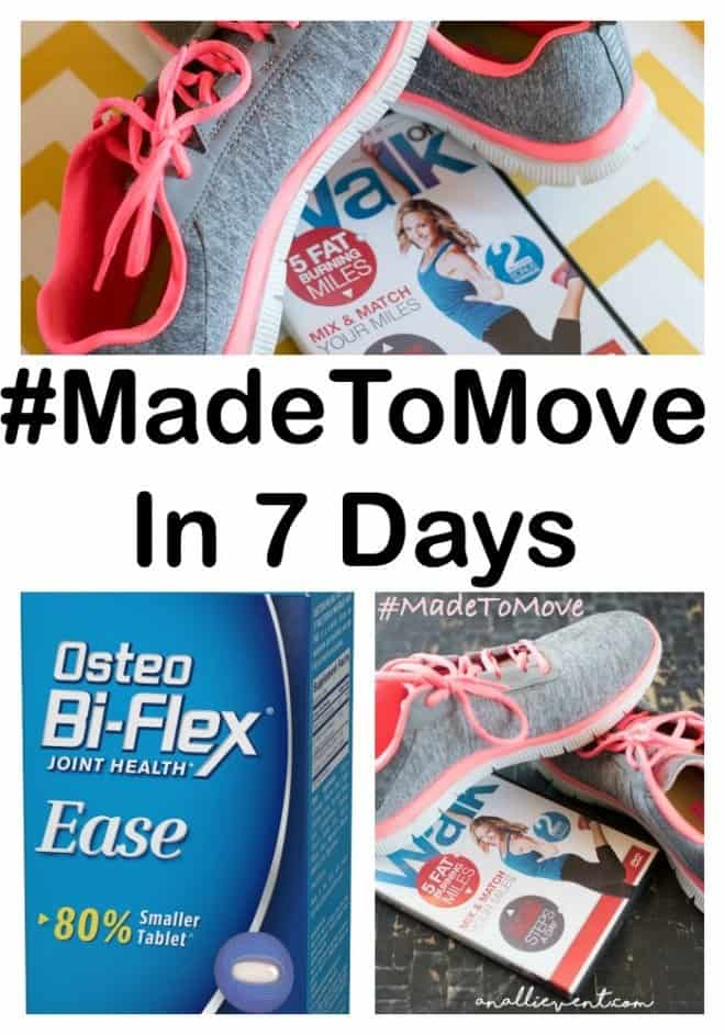 I'm on a 7 Day Journey with Osteo Bi-Flex® EASE!