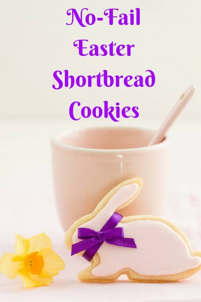 No-Fail Easter Shortbread Cookies