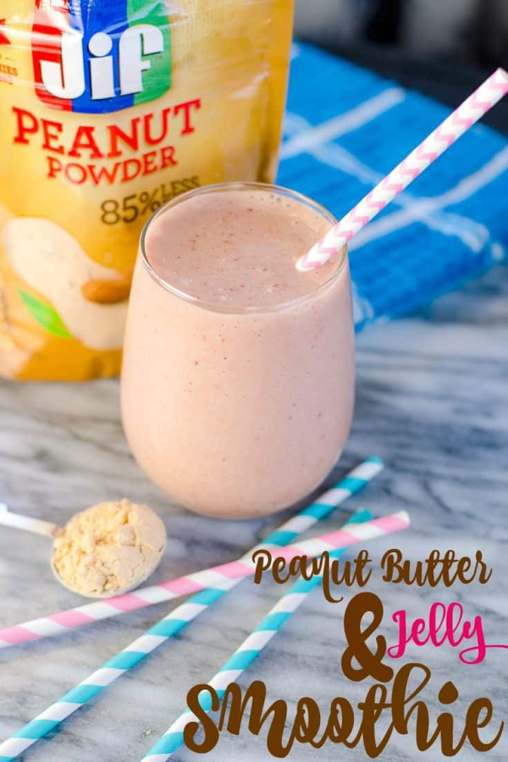 Peanut Butter & Jelly Smoothie