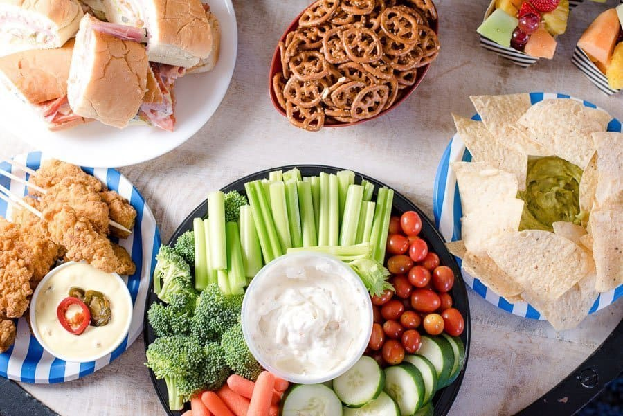 Super Bowl Party Food Ideas Decor amp More An Alli Event