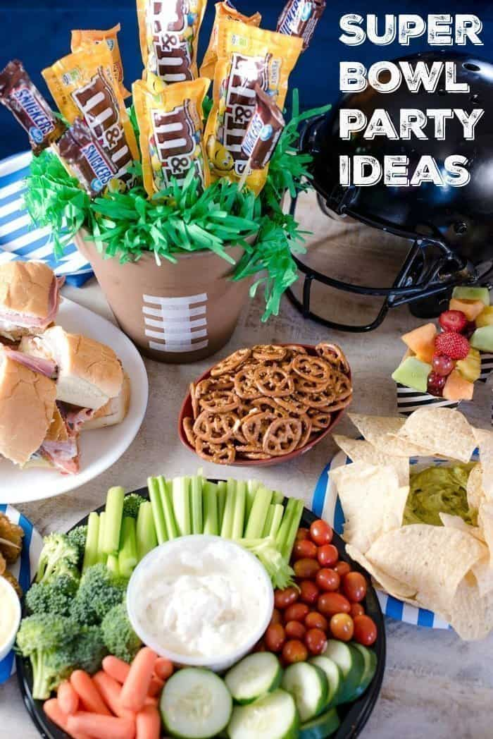Super Bowl Party Food Ideas Decor More An Alli Event