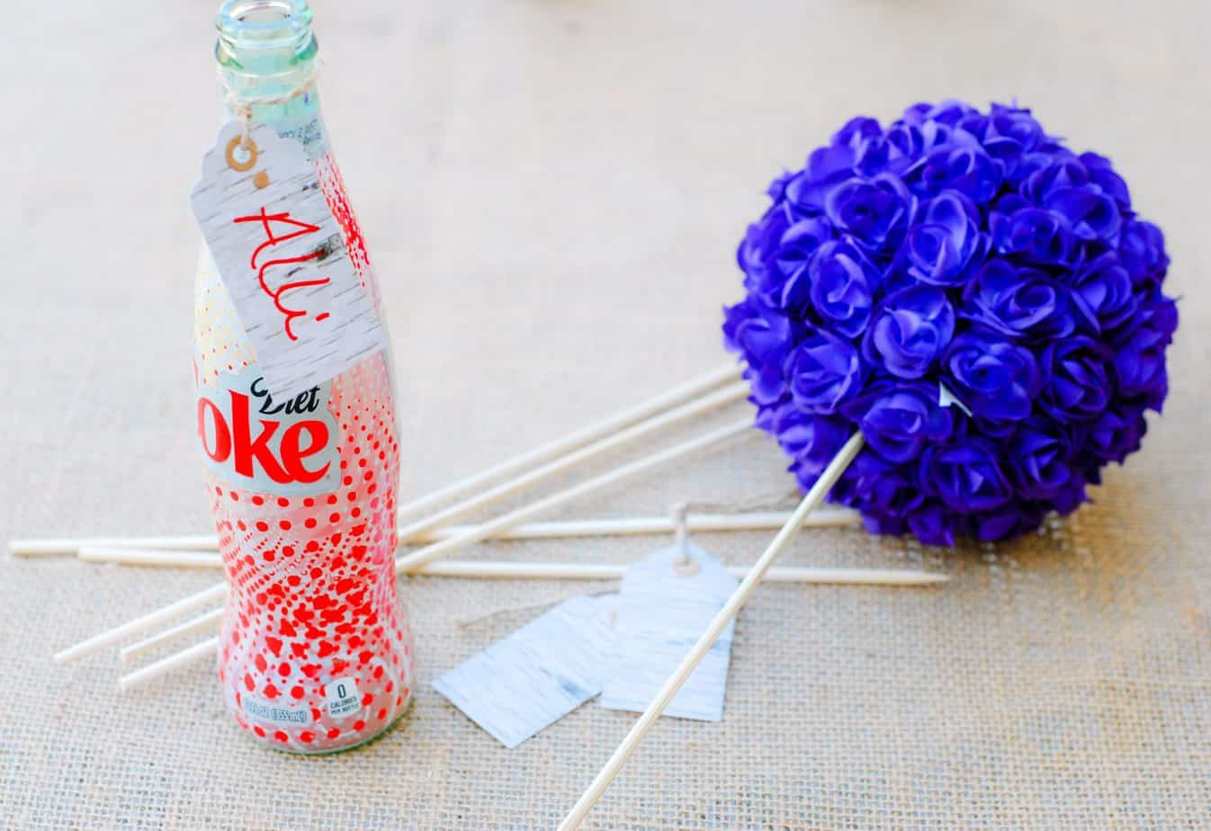 how to make foam with coke