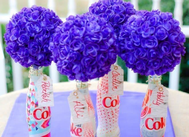 How will you style your Diet Coke bottles?