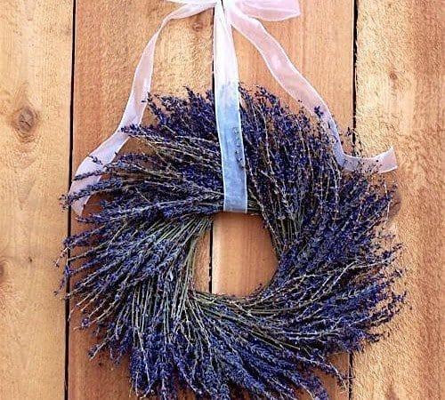 DIY Sunday Showcase - Dried Lavender Wreath