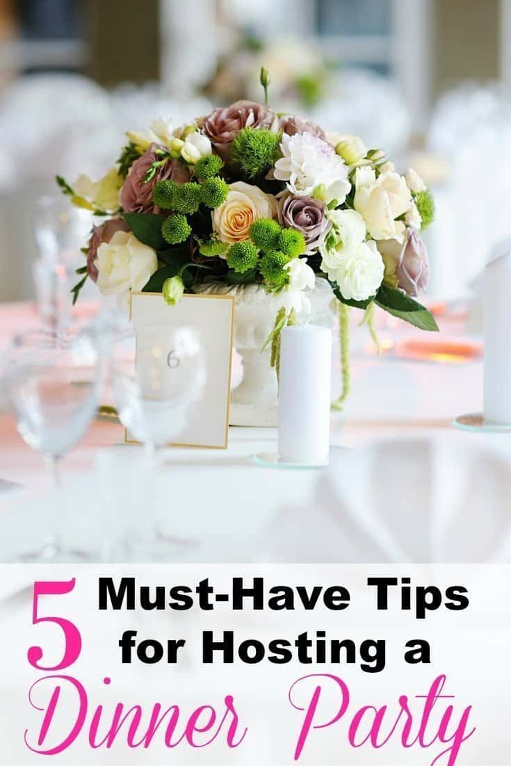 5 must-have tips for hosting a dinner party - an alli event