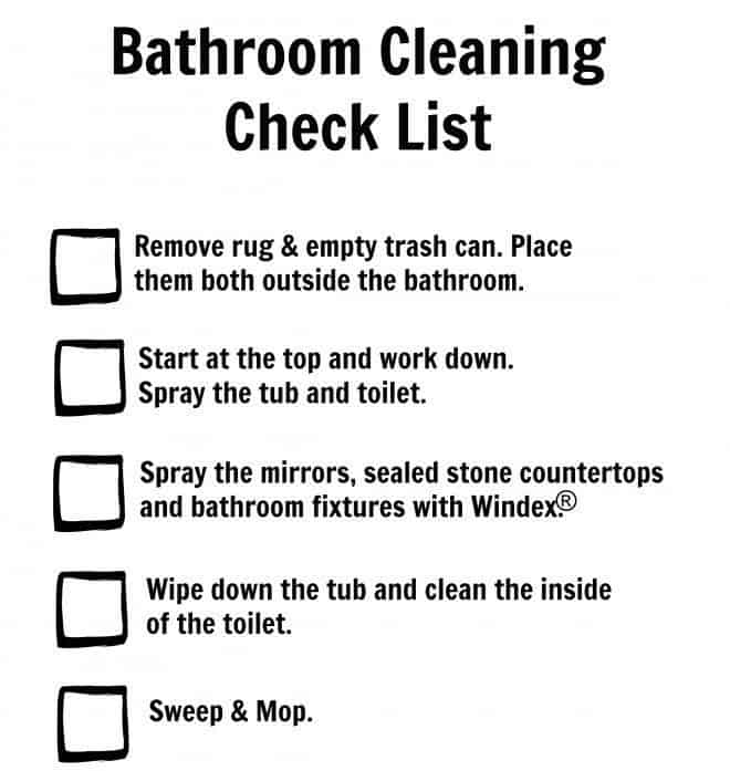 bathroom cleaning checklist. Bathroom Cleaning Checklist Design Ideas   sicadinc com   Home