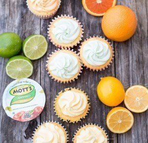 Citrus Cupcakes with Citrus Buttercream Frosting