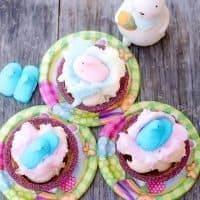 Bubble Gum PEEPS, Vanilla Ice Cream and Cotton Candy Nests