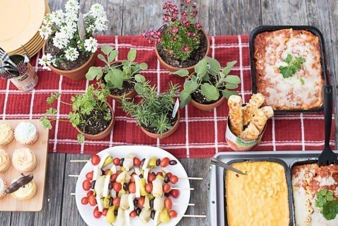 Italian Dinner Feast