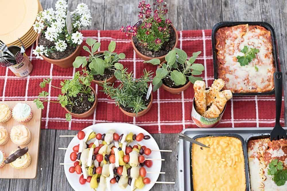 Food Ideas For Dinner Parties Part - 32: Italian Dinner Feast