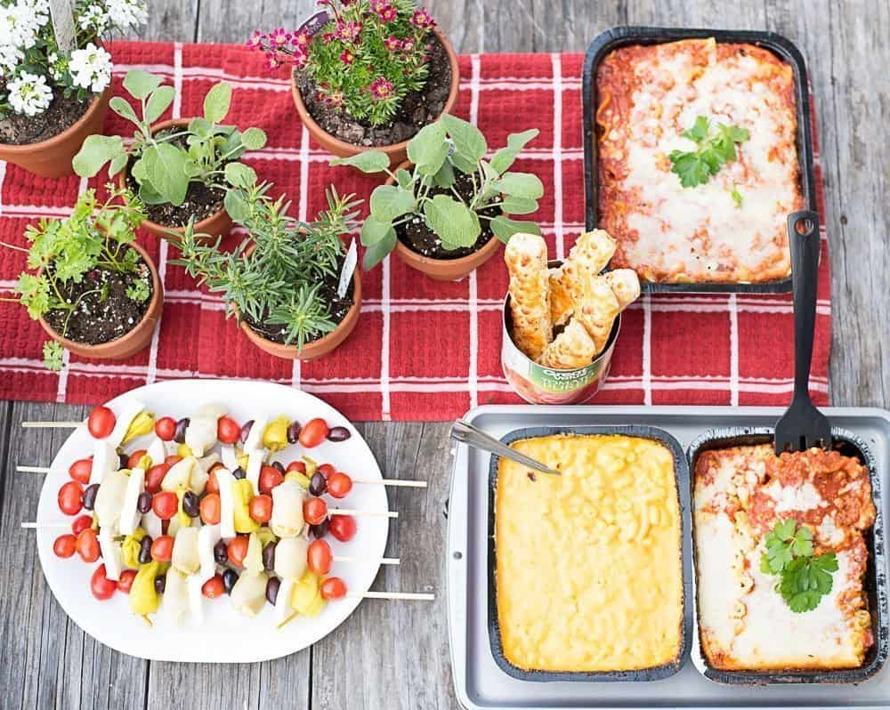 Dinner party ideas for food