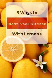 5 Ways to Clean Your Kitchen With Lemons