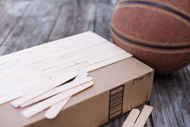 Sour Cream & Onion Loaded Nachos - How to Make a Basketball Court