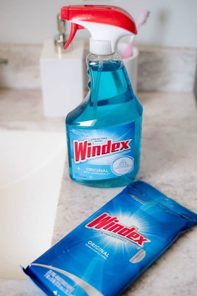 Windex Cleaner - How To Clean Your Bathroom in 20 Minutes