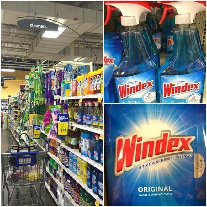 Windex Instore Photo - How to Clean Your Bathroom in 20 Minutes