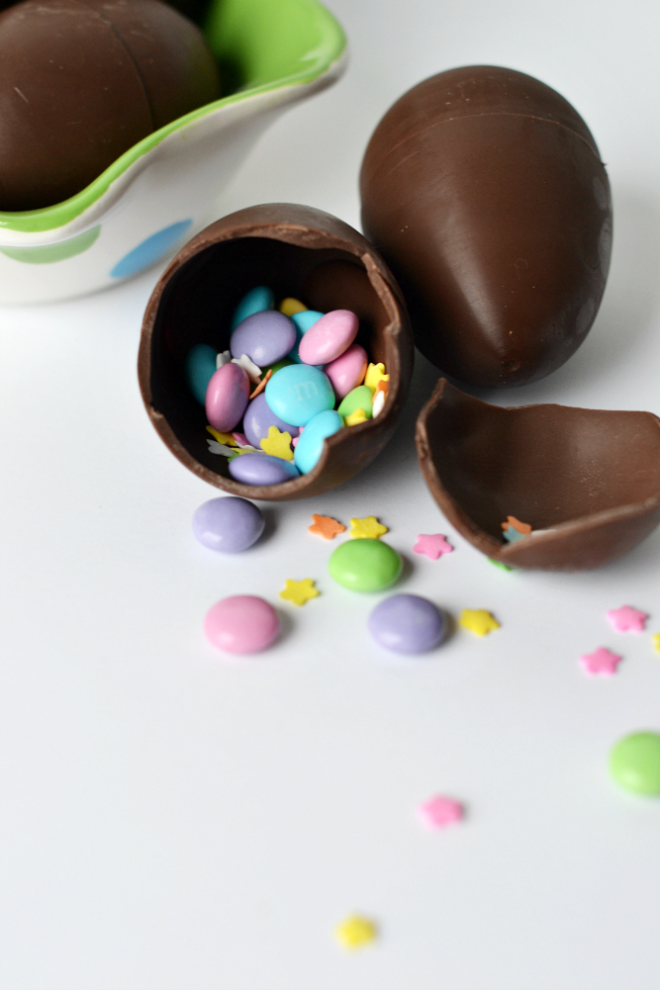 Chocolate Confetti Easter Eggs - Chitchat & DIY Sunday Showcase 03.20