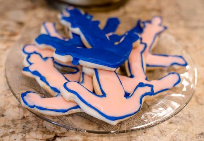 Sugar Cookies - Nautical Themed Bridal Shower