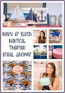 Nautical Themed Bridal Shower