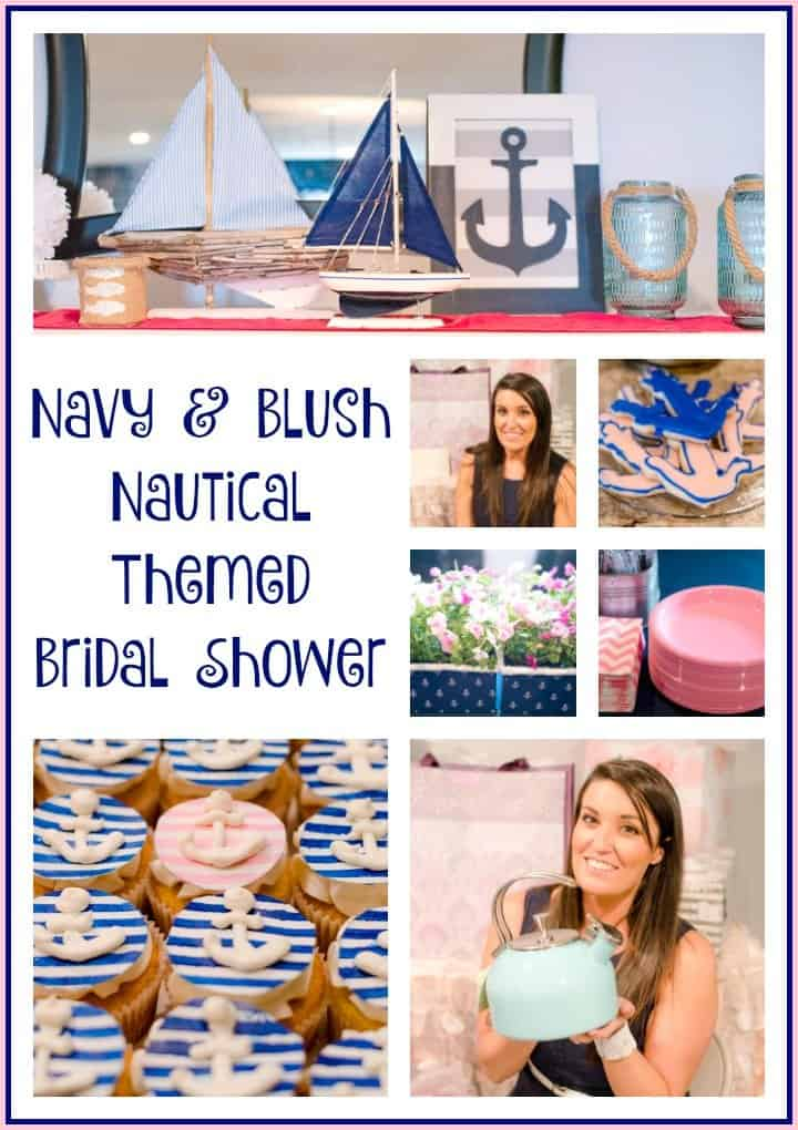 nautical themed bridal shower an alli event. Black Bedroom Furniture Sets. Home Design Ideas