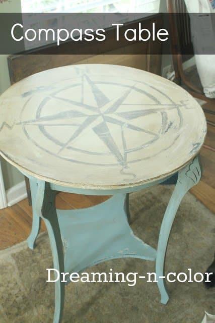 Compass Table - DIY Sunday Showcase 04.03