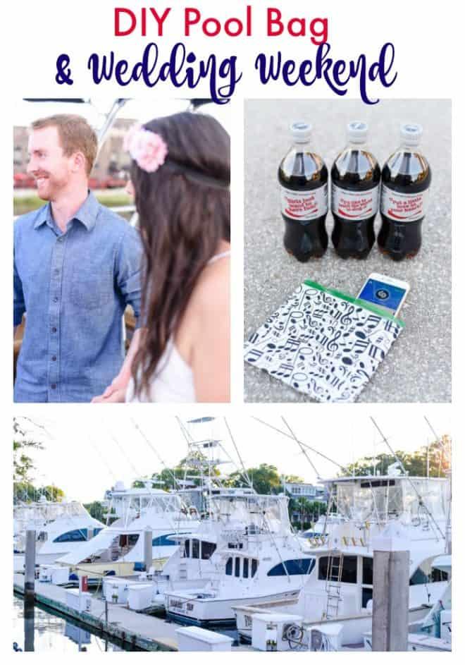 DIY Pool Bag and Wedding Weekend #BestSummerMemories #Ad