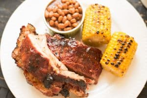 Easy Grilled Ribs and Secret Dry Rub Recipe