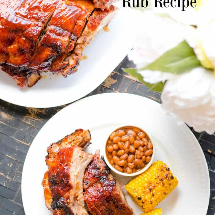 Easy Grilled Ribs and Dry Rub Recipe