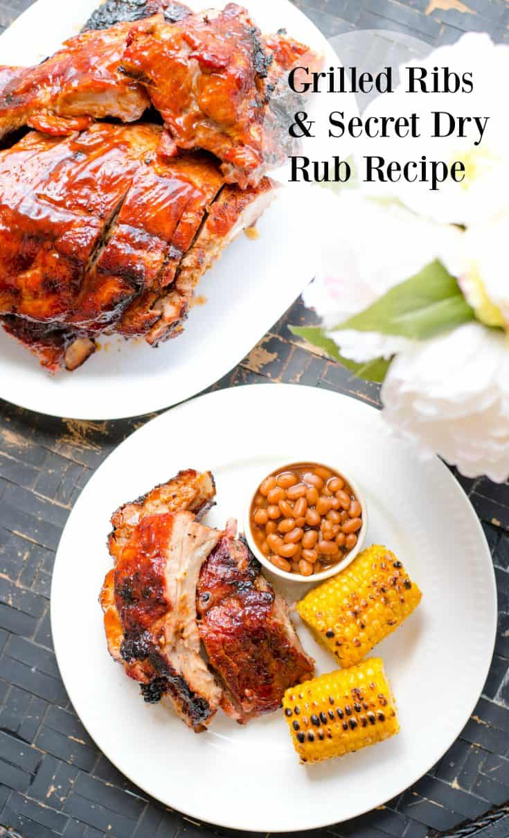Top 10 Most Viewed Blog Posts in 2016 - Grilling ribs is one of the easiest things to do. I promise! Be sure and rub them down with my secret dry rub recipe. #HogWIldThrowdown #ad