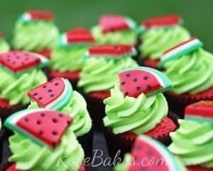 How to Make Watermelon Toppers