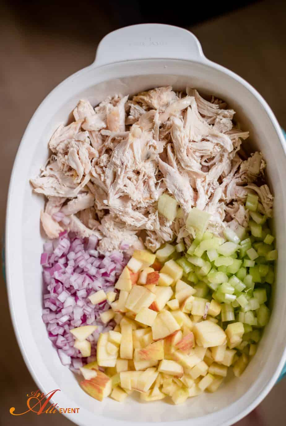 How To Make Chunky Chicken Salad For A Crowd An Alli Event