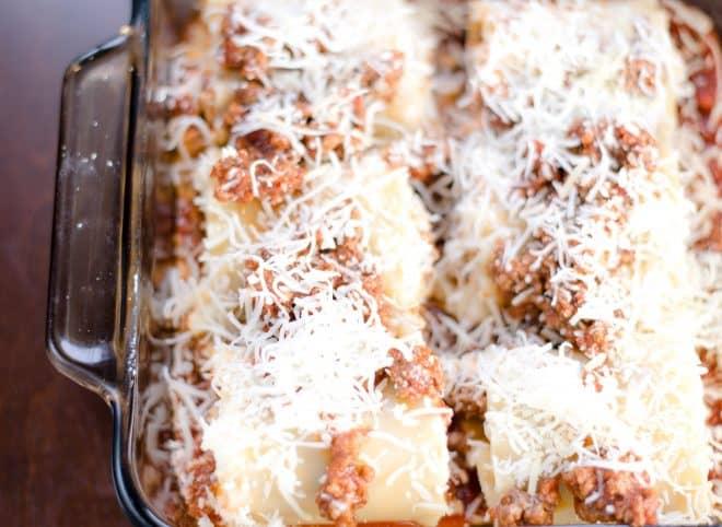 Easy Lasagna Rollups