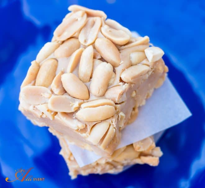 No-Bake Salted Nut Squares