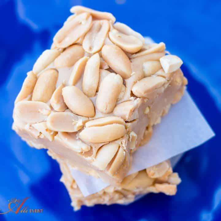 No-Bake Salted Nut Squares