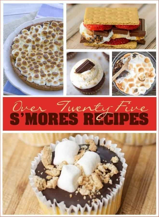 Over 25 Different S'mores Recipes