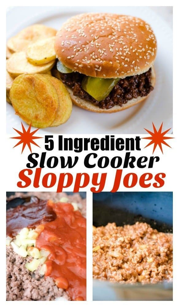 Sloppy Joes in the Slow Cooker