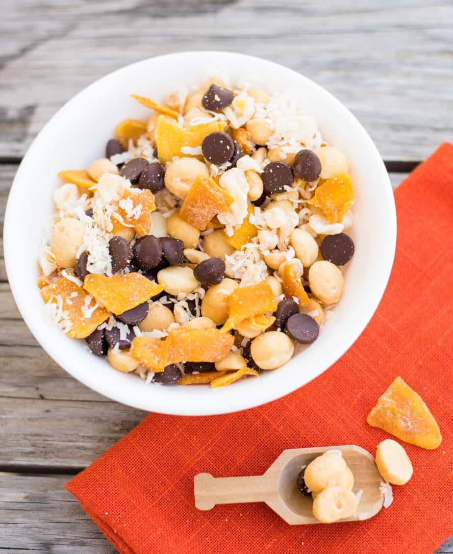 how to make trail mix without nuts