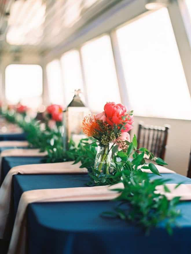 Nautical Wedding Ideas - Centerpiece