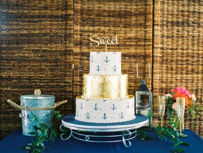 Wedding Cake - Nautical Wedding