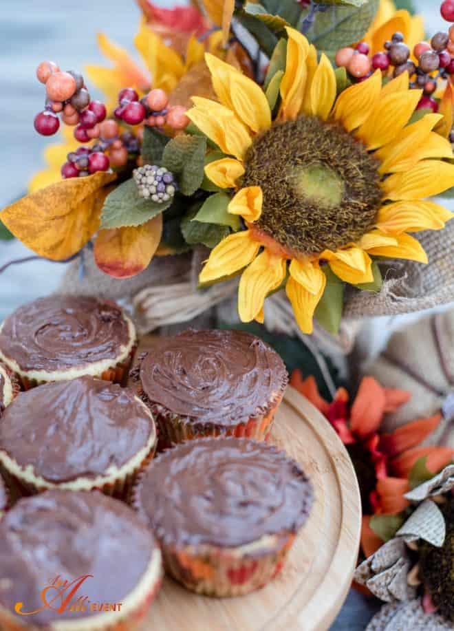 Fall Cupcake Baskets
