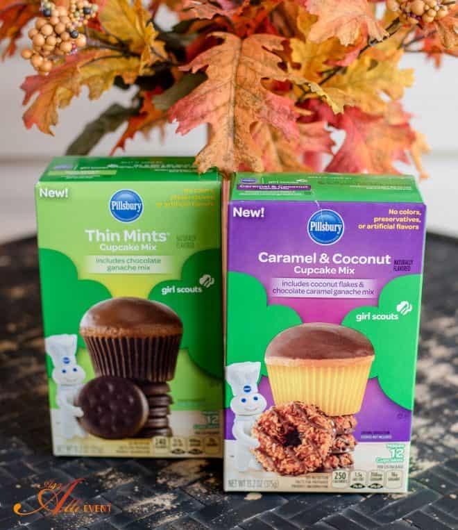 DIY Fall Cupcake Baskets