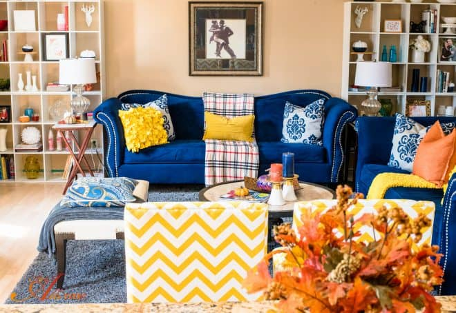 Fall Home Tour - Great Room
