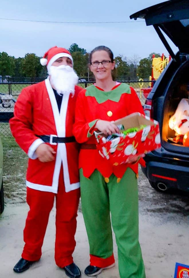 Santa and His Elves - Trunk or Treat